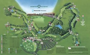 Memorial Tournament Map