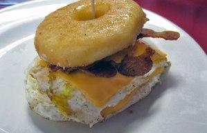 DK Diner's Donut Sandwich