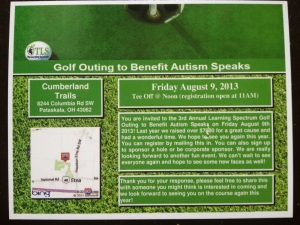 Autism Speaks Golf Outing