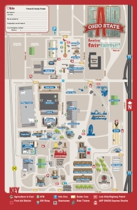 The Ohio State Fair Map