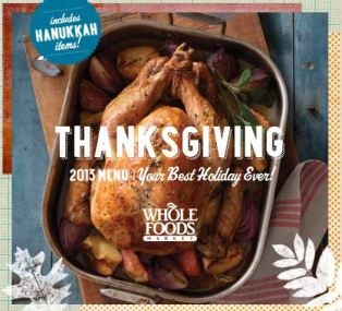 Whole Foods Thanksgiving
